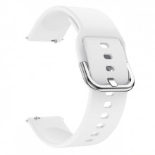 Silicone bracelet soft for Haylou LS05 white